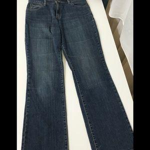 Levis 550 Relaxed Bootcut High Waist Jeans 10